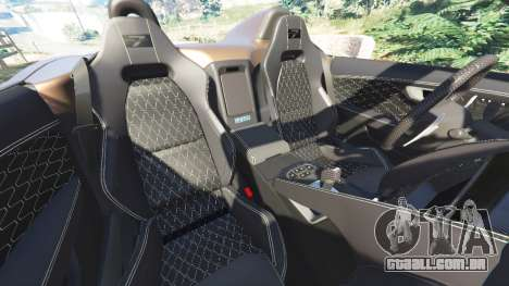 GTA 5 Jaguar F-Type Project 7 2016 vista lateral direita