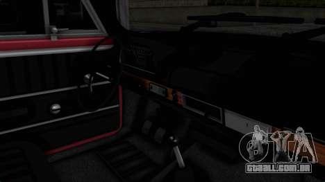 Tofas Murat 124 para GTA San Andreas vista interior