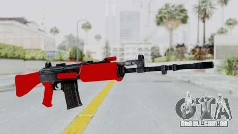IOFB INSAS Red para GTA San Andreas