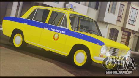 VAZ 2101 para as rodas de GTA San Andreas