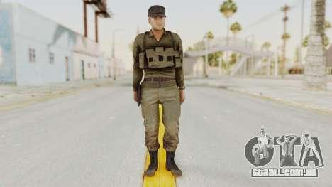 MGSV Phantom Pain Rogue Coyote Soldier Shirt v2 para GTA San Andreas segunda tela