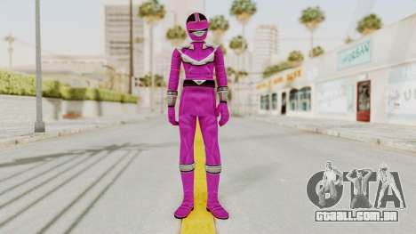 Power Rangers Time Force - Pink para GTA San Andreas segunda tela