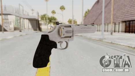 Colt .357 Silver para GTA San Andreas segunda tela