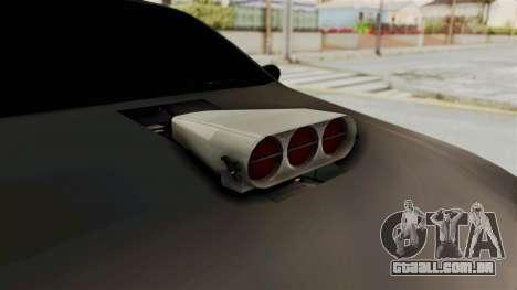 Nissan Maxima Tuning v1.0 para GTA San Andreas vista interior