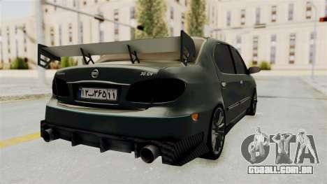 Nissan Maxima Tuning v1.0 para GTA San Andreas traseira esquerda vista