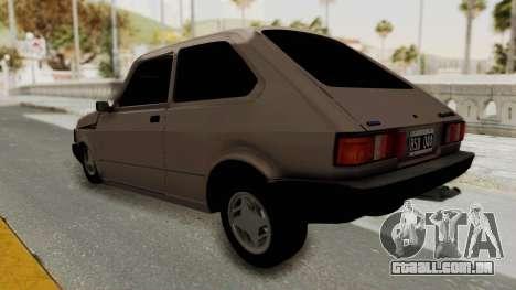 Fiat 147 TR De Picadas para GTA San Andreas esquerda vista