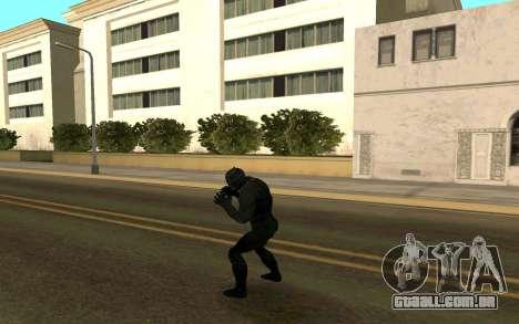 Pantera negra confronto para GTA San Andreas terceira tela