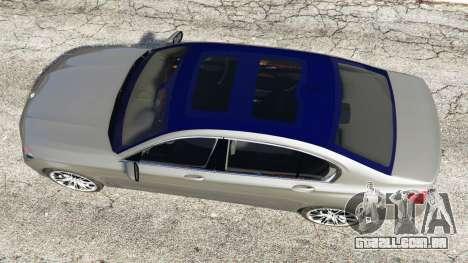 GTA 5 BMW 750Li xDrive (G12) 2016 voltar vista
