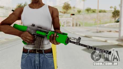 IOFB INSAS Dark Green para GTA San Andreas terceira tela