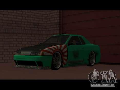 Elegy Paintjob JDM para GTA San Andreas vista direita