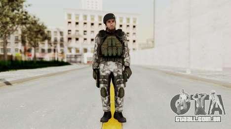 Black Mesa - HECU Marine Beret para GTA San Andreas segunda tela