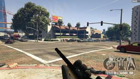 GTA 5 Steyr AUG A1 quarto screenshot