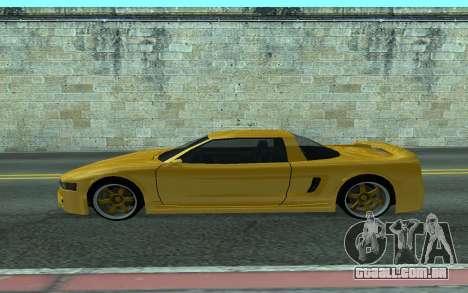 BlueRay's V9 Infernus para GTA San Andreas esquerda vista