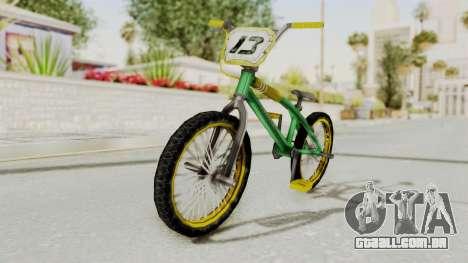 Bully SE - BMX para GTA San Andreas vista direita