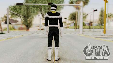 Power Rangers In Space - Black para GTA San Andreas terceira tela