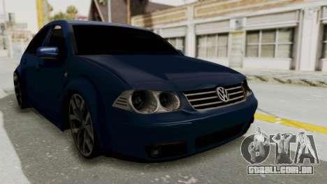 Volkswagen Bora 1.8T para GTA San Andreas vista direita