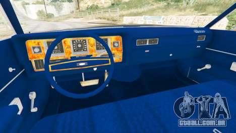 Mercury Monterey 1972 para GTA 5