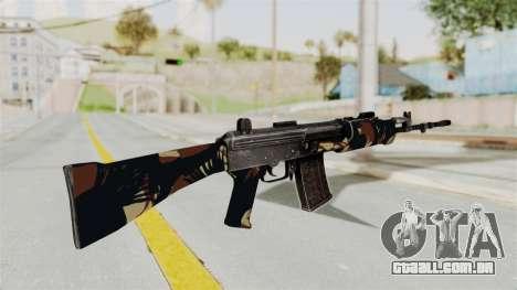 IOFB INSAS Camo v2 para GTA San Andreas segunda tela