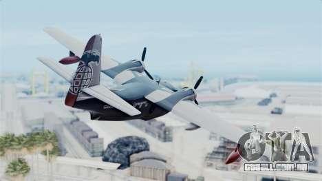 Grumman HU-16 Albatross para GTA San Andreas esquerda vista