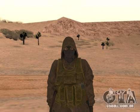 Soviet Sniper para GTA San Andreas sexta tela