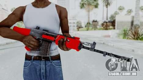 IOFB INSAS Red para GTA San Andreas terceira tela