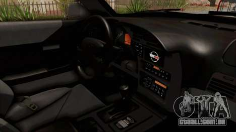 Chevrolet Corvette C4 Monster Truck para GTA San Andreas vista interior