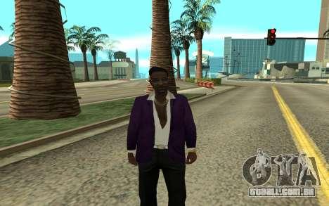 Jizzy para GTA San Andreas