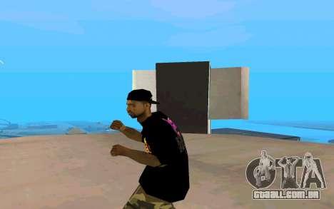 Grove Street Gang Member para GTA San Andreas terceira tela