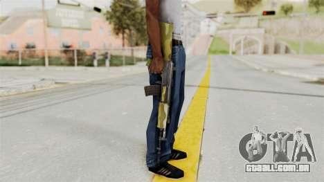IOFB INSAS Camo v1 para GTA San Andreas terceira tela
