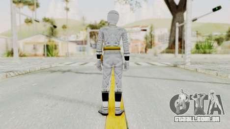 Alien Rangers - White para GTA San Andreas terceira tela