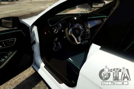 GTA 5 Mercedes-Benz CLA 45 AMG Shooting Brake voltar vista