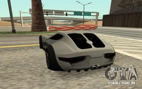 Felino CB7 para GTA San Andreas esquerda vista
