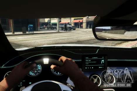 GTA 5 Mercedes-Benz CLA 45 AMG Shooting Brake traseira direita vista lateral