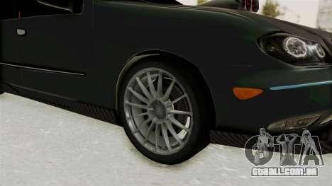Nissan Maxima Tuning v1.0 para GTA San Andreas vista traseira