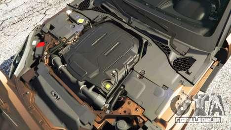 GTA 5 Jaguar F-Type Project 7 2016 frente vista lateral direita