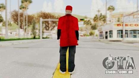 New Skin para GTA San Andreas terceira tela