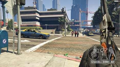 GTA 5 Python .357 Magnum CT6 terceiro screenshot