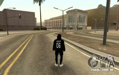 Homeless v4 para GTA San Andreas segunda tela