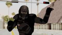 Mass Effect 2 Shepard Default N7 Armor Helmet