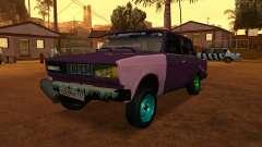 VAZ 2105 cinza para GTA San Andreas