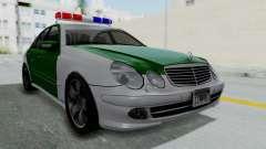 Mercedes-Benz E500 Police