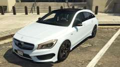 Mercedes-Benz CLA 45 AMG Shooting Brake para GTA 5
