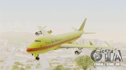Boeing 747-200 Trans San Andreas Air para GTA San Andreas