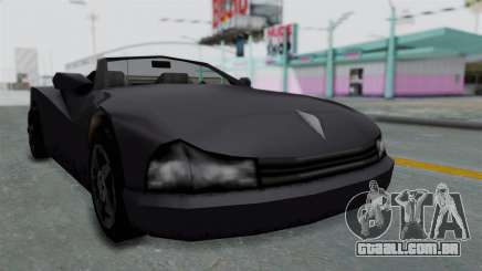 GTA 3 Cheetah Topless para GTA San Andreas