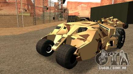 Army Tumbler Rocket Launcher from TDKR para GTA San Andreas