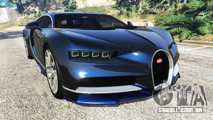 Bugatti Chiron para GTA 5