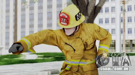 GTA 5 Fireman LV para GTA San Andreas