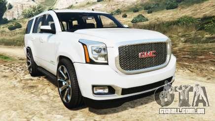 GMC Yukon Denali 2015 para GTA 5