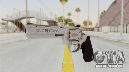 Colt .357 Silver para GTA San Andreas