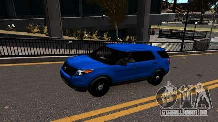 Ford Explorer 2013 para GTA 4